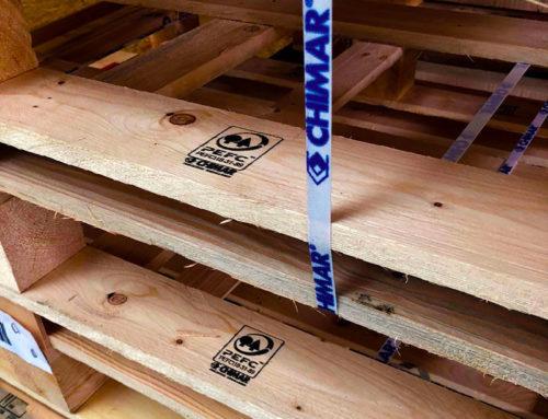 Economia circolare per gli imballaggi in legno